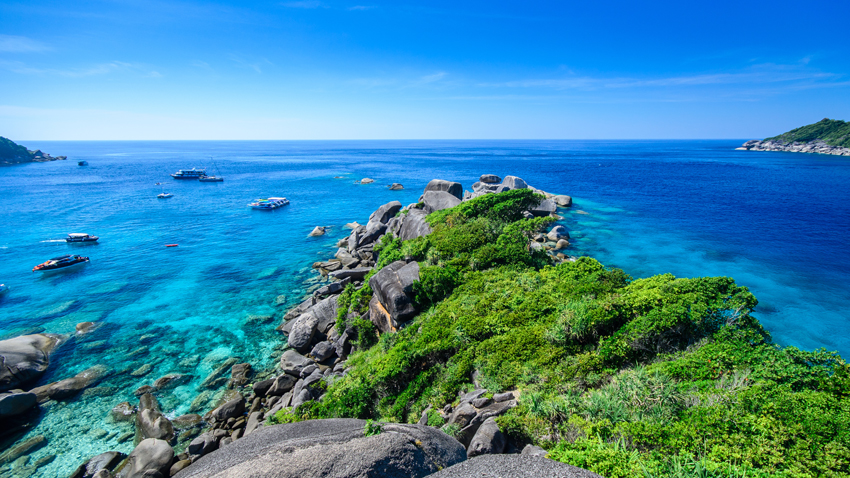 About the Similan Islands in Thailand