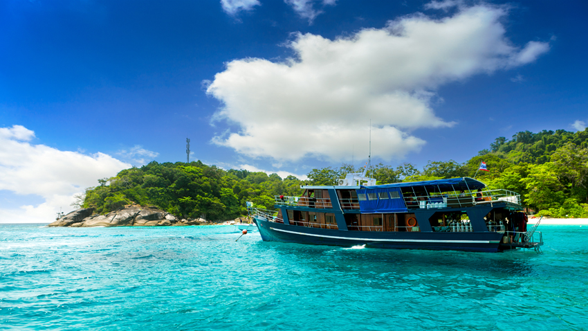 How to travel to the Similan Islands