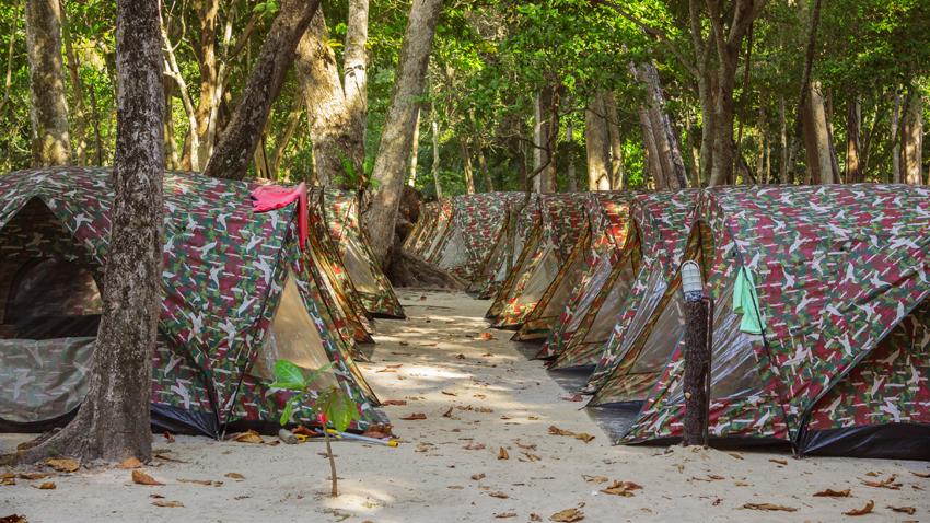 Koh Similan Campsite accommodation