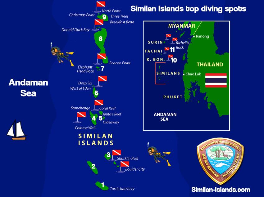 Similan Islands Diving Similan Islands