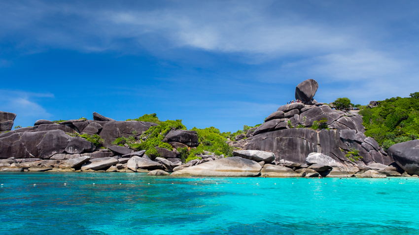 Similan Islands of Thailand