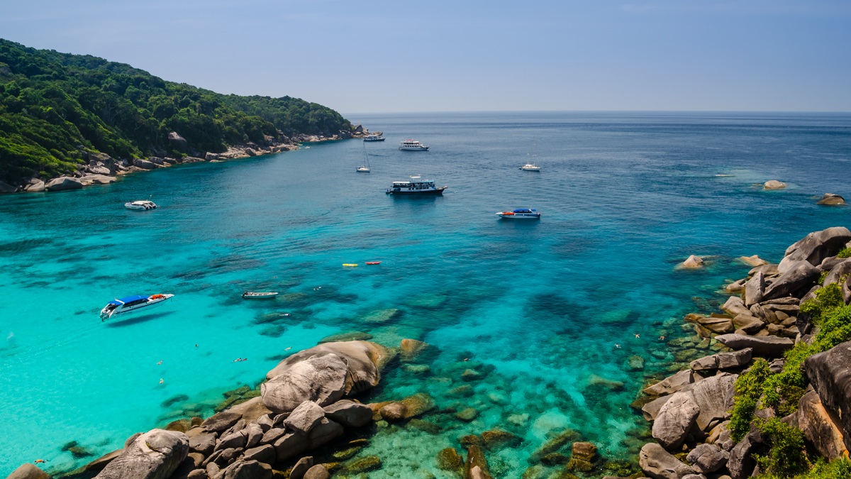 Similan Islands of Thailand National Park