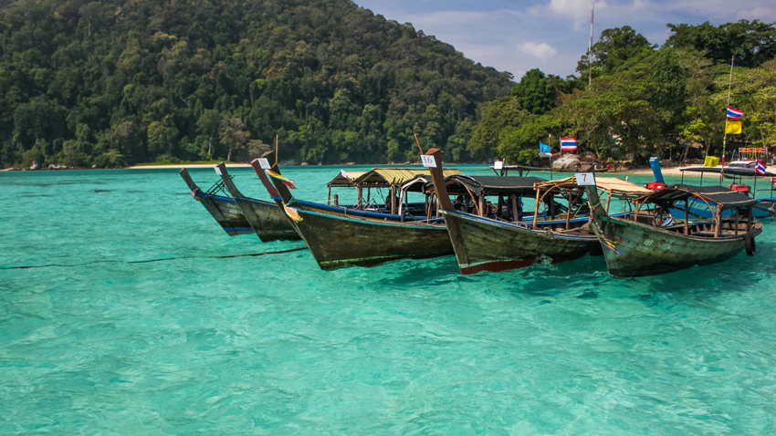 Koh Surin boats
